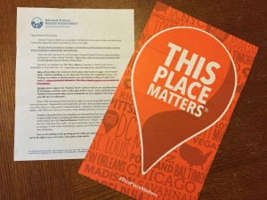 National Trust for Historic Preservation campaign encourages anyone to get involved.